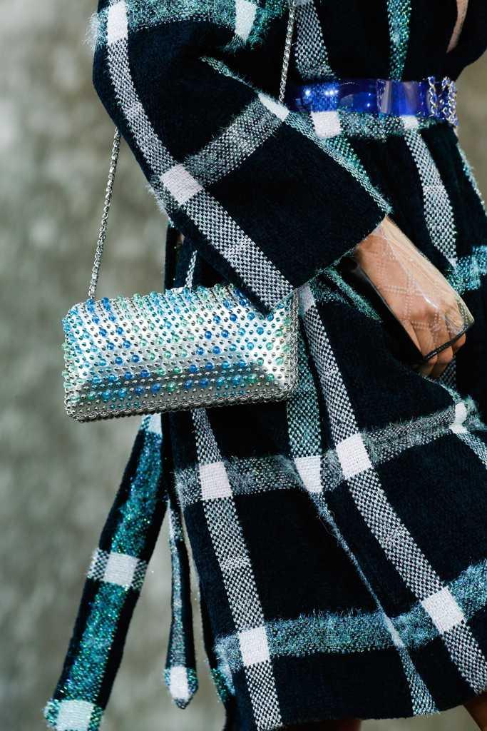 сумка шанель синяя