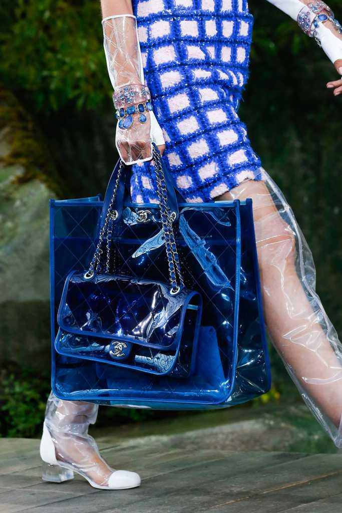 сумка шанель прозрачная
