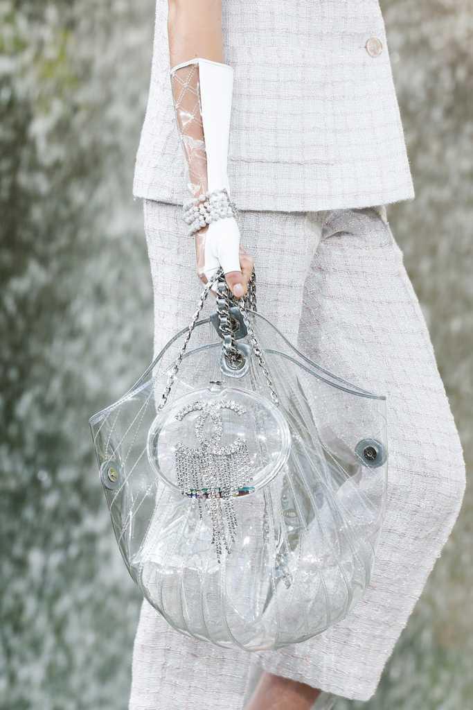 сумка шанель пластиковая
