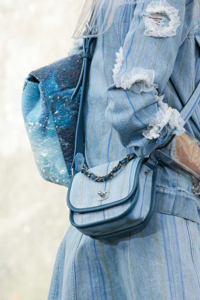 джинсовые сумки шанель