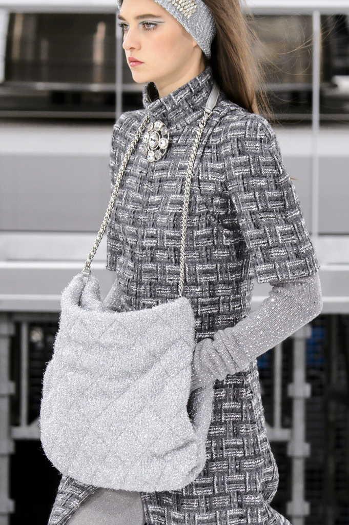 сумка шанель текстильная