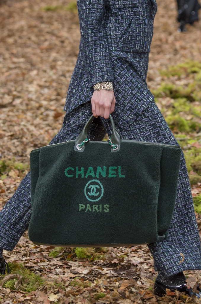 сумка холщовая шанель