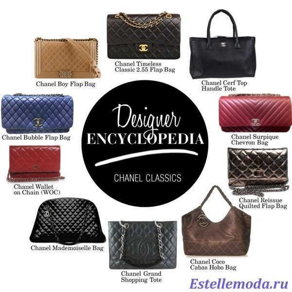 женские сумки шанель, фото