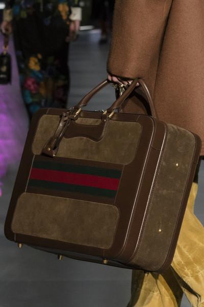 коричневая дорожная сумка Гуччи