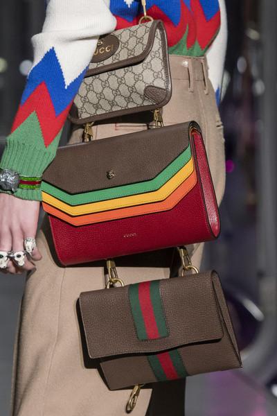коричневая сумка Гуччи