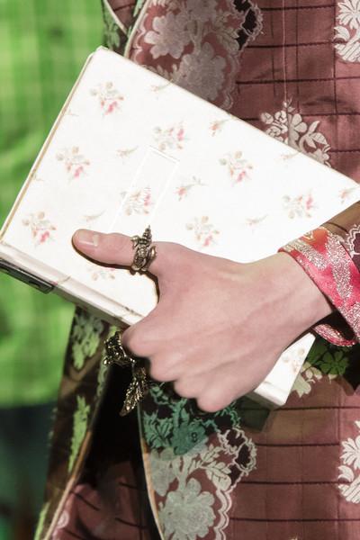 сумка Гуччи с цветами