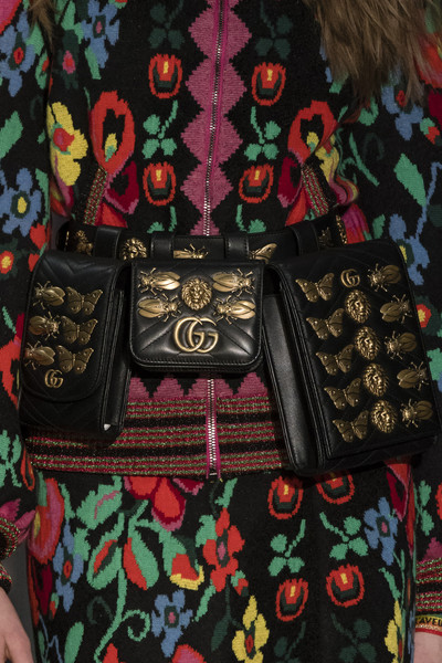 Женские сумки на пояс от бренда Gucci, фото