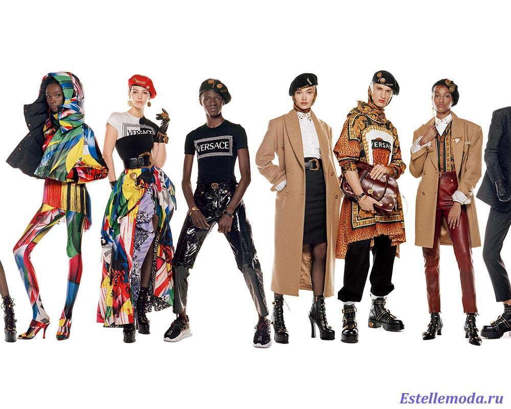 Коллекция Versace осень-зима 2018 2019 на Неделе моды в Милане
