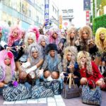 Стили японских субкультур гангуро и манба. Кто такие девушки гангуро?