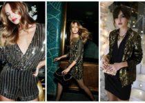 Как и с чем носить пайетки: советы модницам