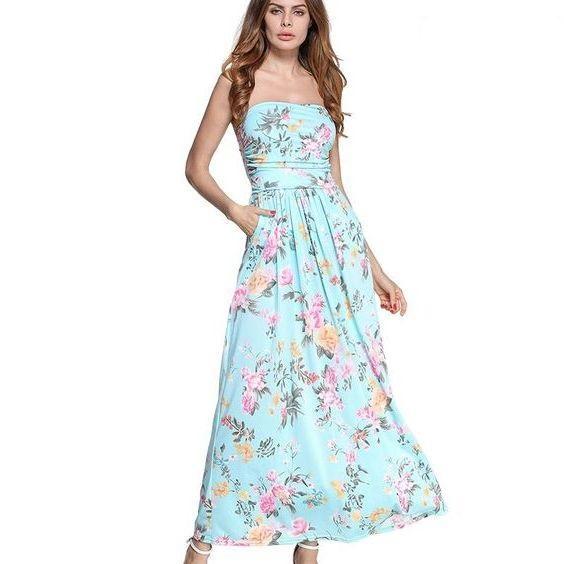 модный сарафан в цветочек лето 2021