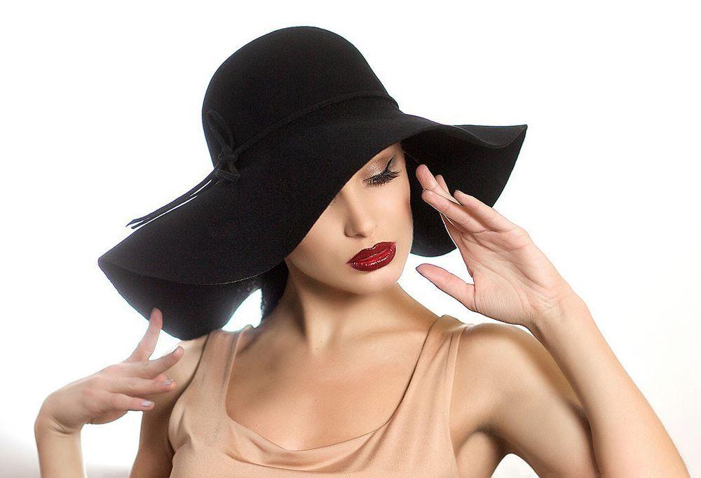 Как носить шляпу с широкими полями - советы девушкам и женщинам