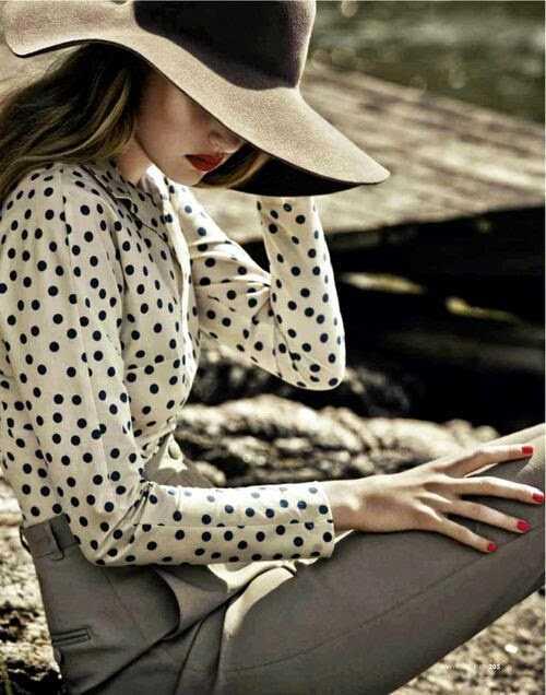 Как носить широкополую шляпу, советы
