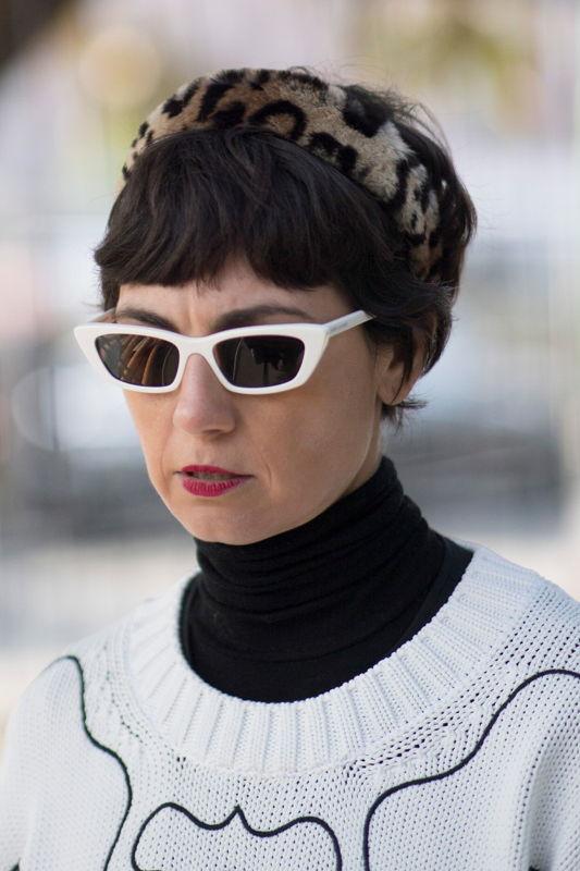 солнцезащитные очки в стиле Одри Хепберн 2021-2022