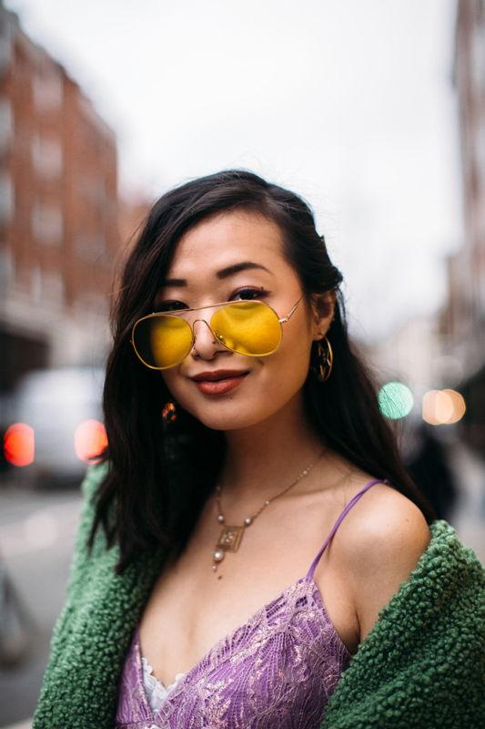 модные очки с желтыми линзами 2021-2022