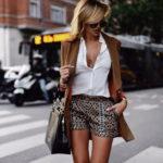 Женские элегантные шорты: выбираем красивые модели