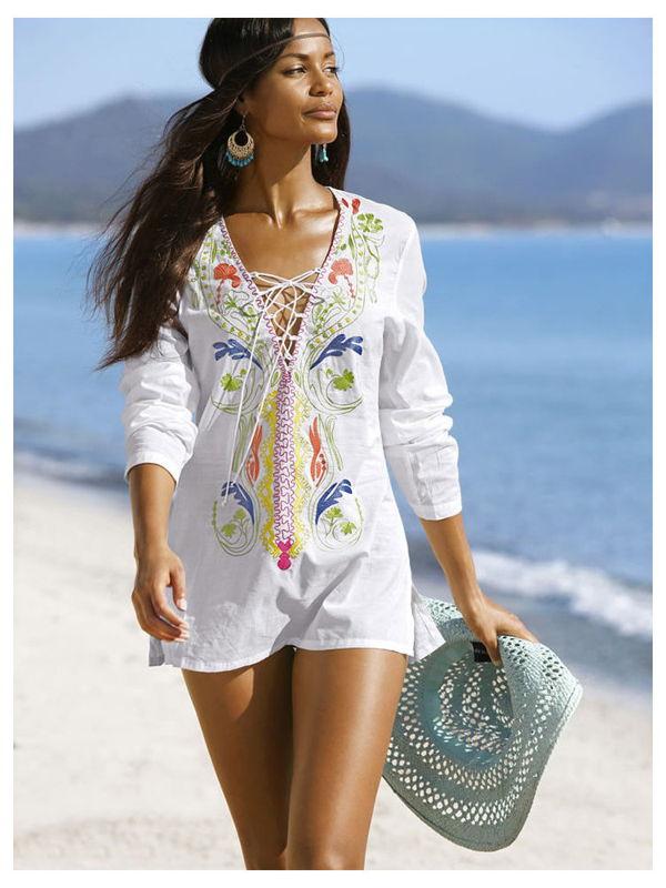 Женские туники: с чем носить и как выбрать модную модель
