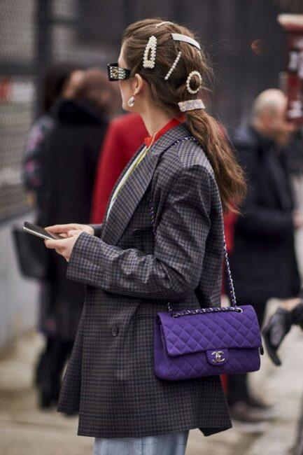 Модные заколки для волос: тренды 2021-2022, фото