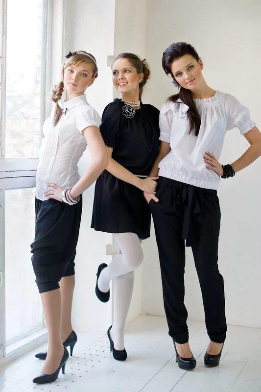 школьная модная форма для подростков девочек